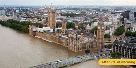 Voici Londres plus tard si le réchauffement à +2° se confirmait | TRANSITURUM | Scoop.it