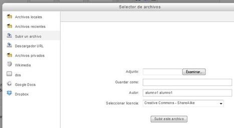 Configuración de los archivos para los docentes en Moodle 2.x | Aprender en red | Educació de Qualitat i TICs | Scoop.it