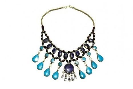 Kuchi Banjara Layer Tribal Jewelry Choker Belly Dance Boho Fashion Necklace | Buy Belly Dance Jewelry Tribal Fusion Bellywood | Scoop.it
