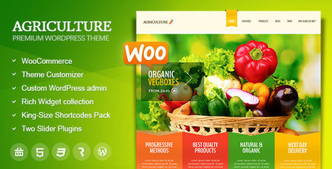 Agriculture - All-in-One WooCommerce WP Theme - WordpressThemeDB | Discounts around the world | Scoop.it