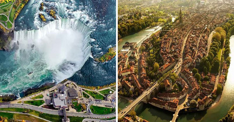 These aerial views of popular places are just amazing. #10 totally shocked me, WOW! | Geography in the classroom | Scoop.it