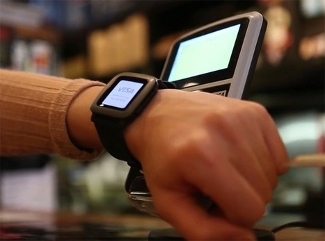 Pagaré smartstrap turns Pebble into a mobile wallet | News we like | Scoop.it