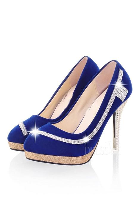 Rhinestone Decorated Point Toe Stiletto Heel Flatform Pumps | Fashion Zone | Scoop.it