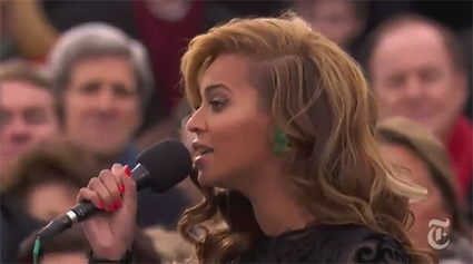 Beyonce chante l'hymne US à l'investiture de Barack Obama | Rap , RNB , culture urbaine et buzz | Scoop.it