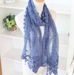 Mulberry Silk Embroidery Hollow Out Flowers Long Scarf/Wrap -US$ 27.88 | women fashion accessories | Scoop.it