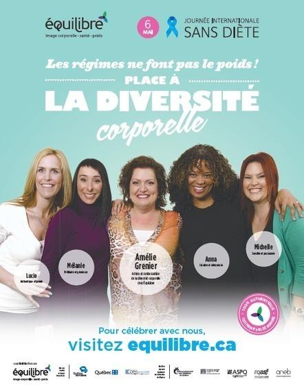 Journée internationale sans diète - Nos campagnes - ÉquiLibre | Image Corporelle et Nutrition | Scoop.it