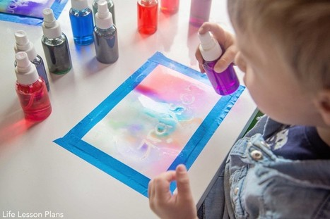 Scented Watercolor Spray Paints - Life Lesson Plans | Early years | Scoop.it
