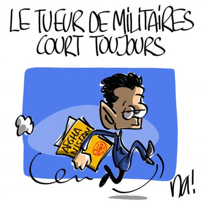 Le tueur de militaires court toujours | Baie d'humour | Scoop.it