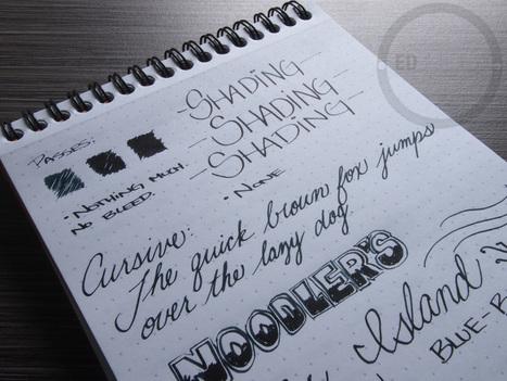 Noodler's Ellis Island Blue Black - Handwritten Ink Review | Writing instruments | Scoop.it