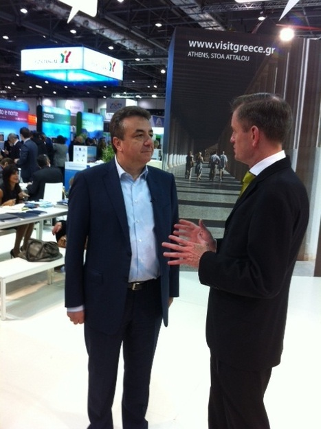 Governor Arnaoutakis interviewed by Garry Davis of Travel Channel @ WTM_London | IncredibleCrete | Scoop.it