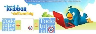Marcar el avatar para adheriste a una causa en Twitter con TWIBBON | EDUDIARI 2.0 DE jluisbloc | Scoop.it
