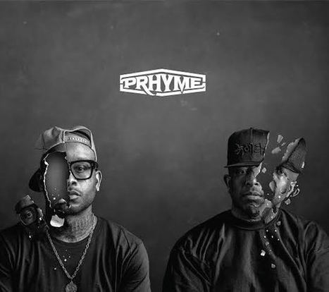 "Buzz!! • DJ PREMIER & ROYCE DA 5'9 • ""PRhyme"" • Album cover art & tracklist 