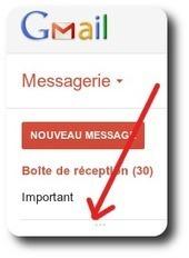 Gmail: comment rendre visible les répertoires et libellés ? | Time to Learn | Scoop.it