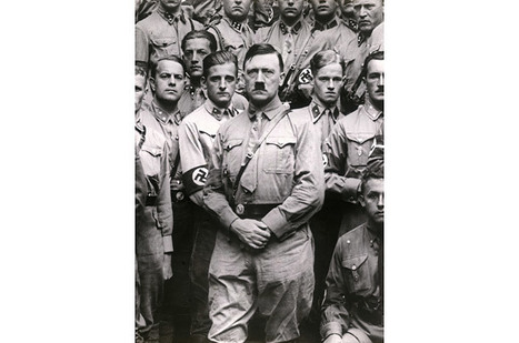 Adolf Hitler and His Cabinet