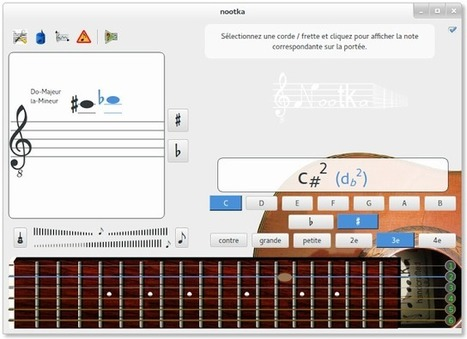Nootka – Une application simple pour apprendre les notes sur une guitare | Time to Learn | Scoop.it