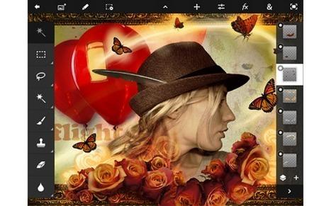 Photoshop Touch Gets Retina Support With New iPad App Update | PadGadget | IKT och iPad i undervisningen | Scoop.it
