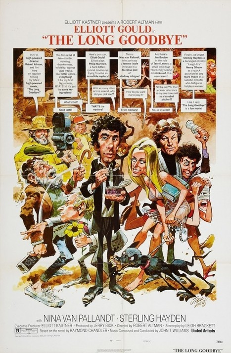 "Jack Davis, ""Il lungo addio"" - Cinema/Poster/Fumetto - di Alberto Farina 