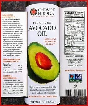 EBL Food Allergies: Product Review: Chosen Foods Avocado Oil | EBL Food Allergies | Scoop.it