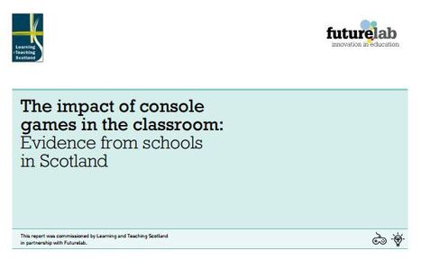 The impact of console  games in the classroom | Jogos Digitais | Scoop.it