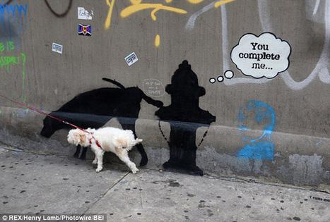 Banksy y sus grafitis se adueñan de las calles de Nueva York por un mes | Artistica visual en la escuela | Scoop.it