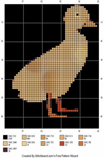 Duck Cross Stitch Patterns - Animal Cross Stitch Patterns | Animal Cross Stitch Patterns | Scoop.it