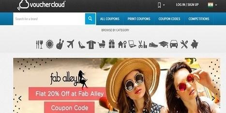 Vouchercloud: Promises Big Savings While Shopping online | SEO | Scoop.it
