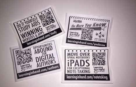 What's Up with QR Codes: Best Tools & Some Clever Ideas   Technology in Today's Classroom   Scoop.it