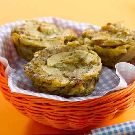 Gâteau d'artichaut et pommes de terre | recettes | Scoop.it