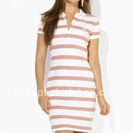 Cheap Pink/White Striped Ralph Lauren Polo Dresses [Ralph Lauren Polo Dresses] - $59.00 : T shirt | Cheap t shirt | Abercrombie & Fitch | Chrome Hearts | Ralph Lauren | Chrome Hearts T-shirt | Aber... | Prom & Homecoming Dresses | Scoop.it