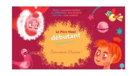 Le père Noël débutant (livre interactif) | FLE enfants | Scoop.it