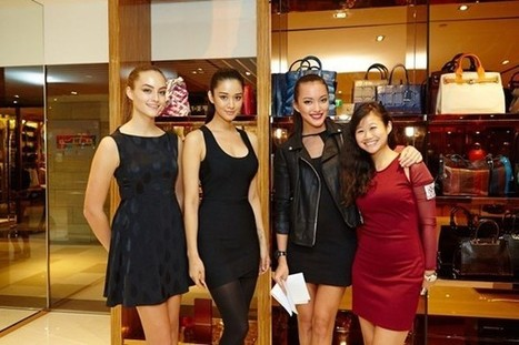 Giudi [Morrovalle] celebrates launch of first boutique in Asia | Le Marche & Fashion | Scoop.it