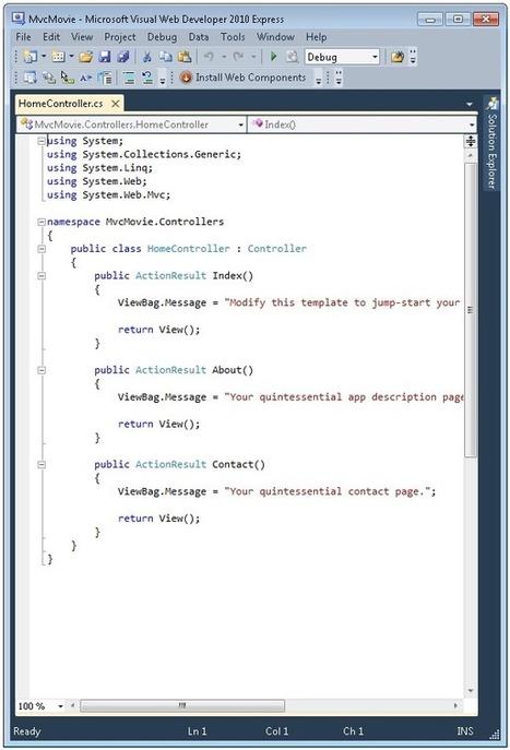 Intro to ASP.NET MVC 4: The Official Microsoft ASP.NET Site | AspNet MVC | Scoop.it