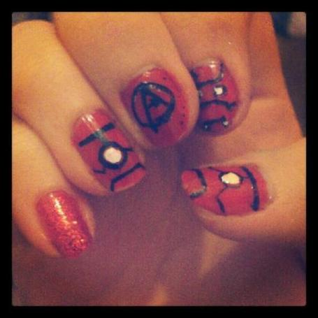 fiona_96x: Iron man nails due to my l | Vulbus Incognita Magazine | Scoop.it