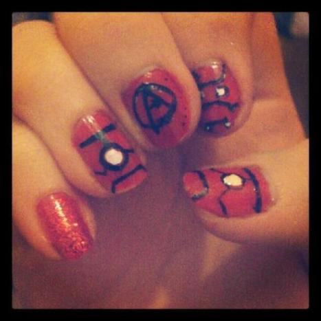 fiona_96x: Iron man nails due to my l | VIM | Scoop.it