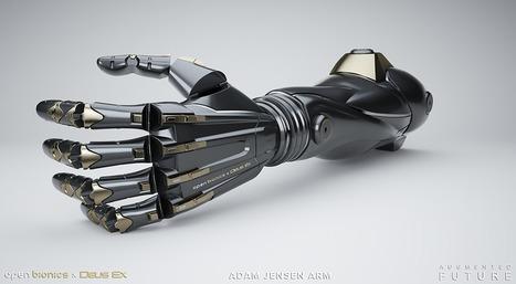 Un bras bionique à contrôle mental aide à ressentir la sensation du touché   Chair et Métal - L'Humanité augmentée   Scoop.it
