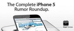 12 Best Apple iPhone 5 Infographics (Information Graphics) | All Infographics | All Infographics | Scoop.it
