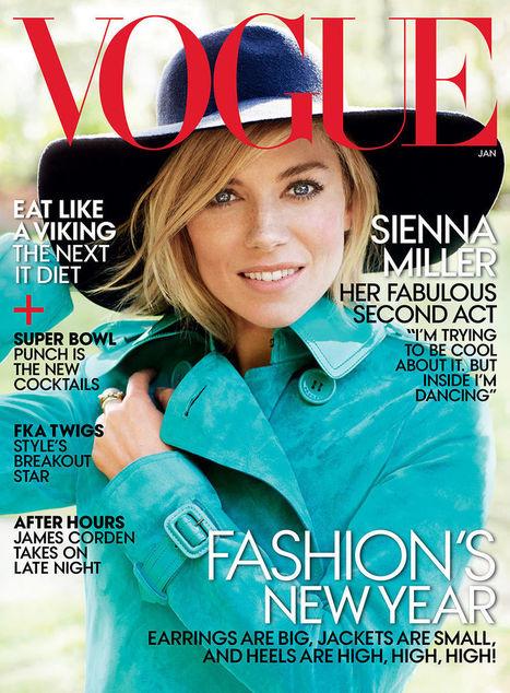 Sienna Miller Is Back on Vogue Magazine | Best Fashion Week | Scoop.it