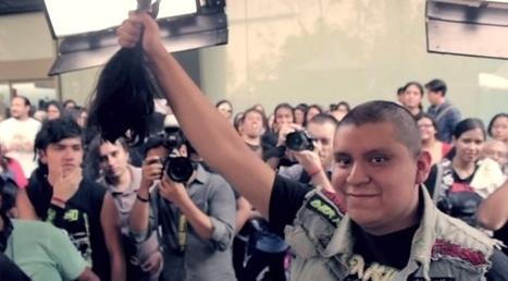En faveur des enfants cancereux, un festival de métal vend ses places contre vos cheveux | streetmarketing | Scoop.it