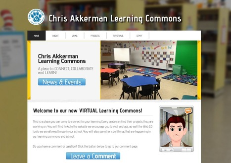 The New Hub - Area 3 Learning Commons - Blogger | School Library Learning Commons | Scoop.it