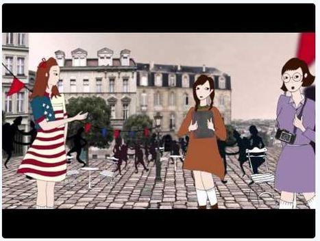 L'album de Rachel et Hannah: nouveau projet pédagogique numérique Mémorial de Caen | CaféAnimé | Scoop.it