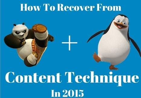 Tips to Combat The Panda and Penguin In The Content Technique | Seo | Scoop.it