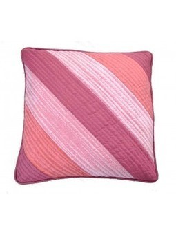 MeSleep Pink Quilted Cushion Cover - Shop and Buy Online at Best prices in India. | Online Shopping | Scoop.it