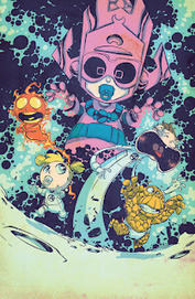 1936 visiones: Portadas alternativas de 'Marvel Babies' dibujada por Skottie Young para Marvel NOW! | comics y + | Scoop.it