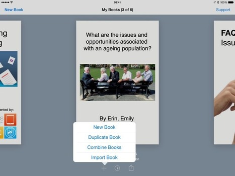 Apps in Action: Using Book Creator to Create and Collaborate | Uppdrag : Skolbibliotek | Scoop.it
