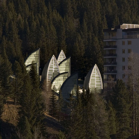 Suisse, Spa Tschuggen Berg Oase par Mario Botta Architecte | Architecture et montagne | Scoop.it