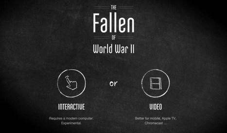 The Fallen. Incroyable datavisualisation sur les victimes de la seconde guerre mondiale   Les outils du Web 2.0   Scoop.it