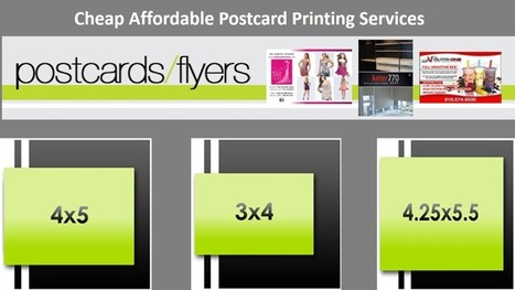 Cheap Affordable Postcard Printing Services | 1000s Postcard Printing | Scoop.it