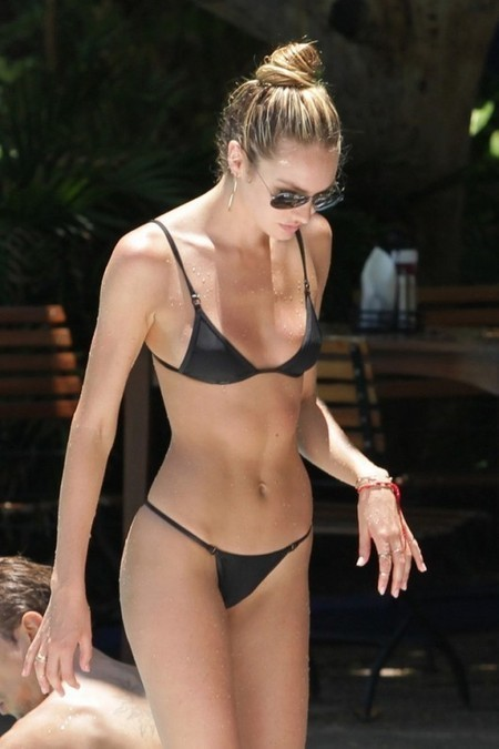 Photos : Candice Swanepoel Wearing bikini by the pool in Miami | Radio Planète-Eléa | Scoop.it