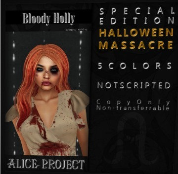 Free halloween Hair at Alice Project | Second Life Freeness Huntress | Scoop.it