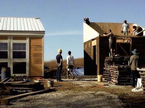 Découvrez la première maison écologique à bâtir soi-même en 5 jours pour 22 000 euros   Equilibre des énergies   Scoop.it